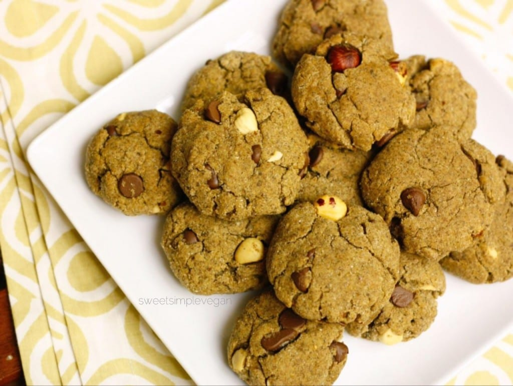 Healthy Chocolate Chip Cookies (GF)