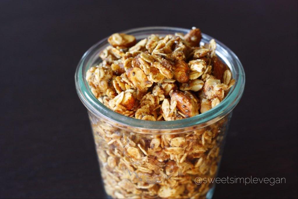 Gluten-Free Almond Butter Granola