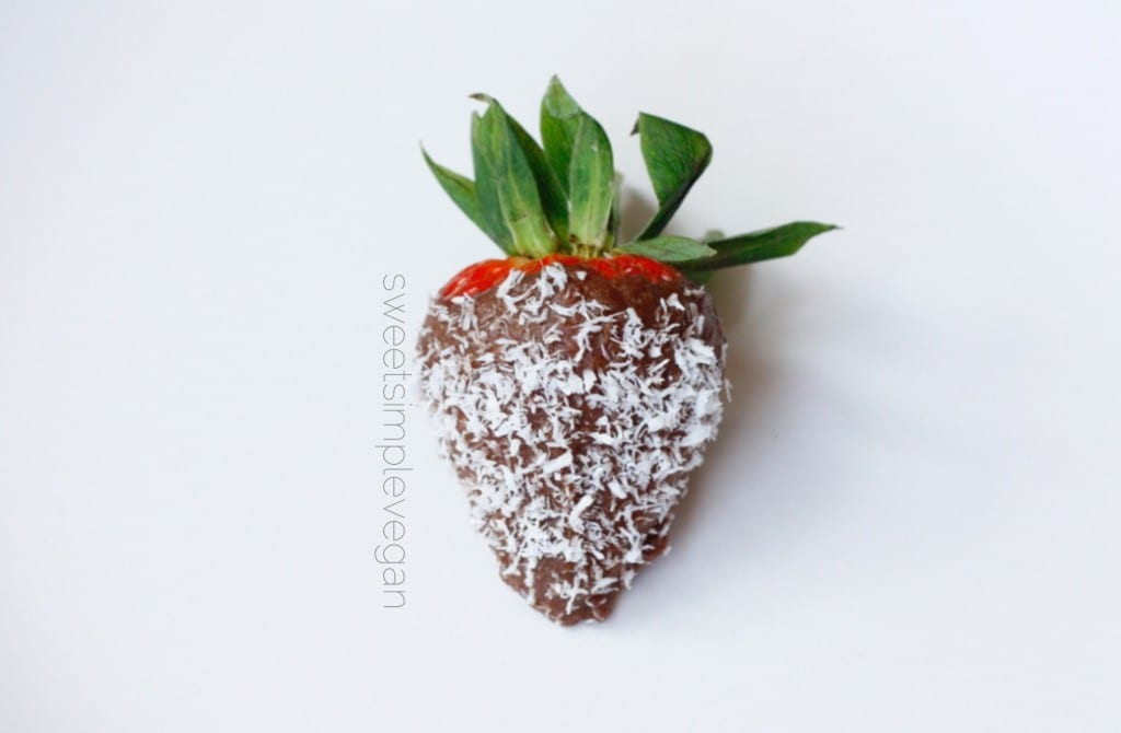 Acai Cacao Covered Strawberries