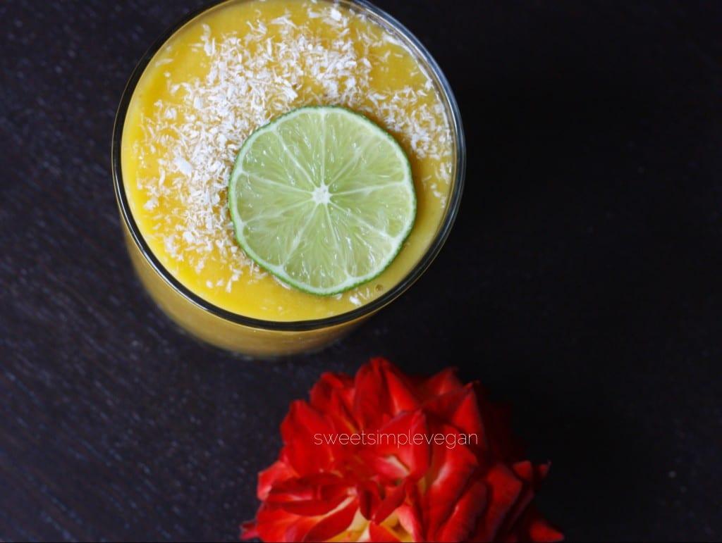 Mango & Lime Smoothie
