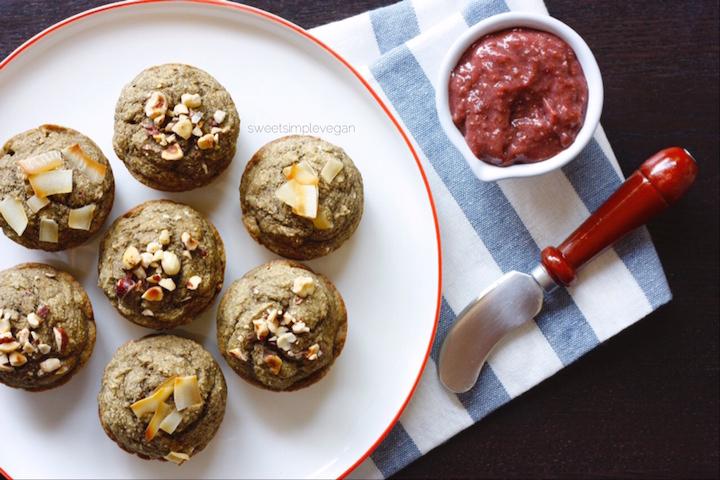 3Vanilla Chai Banana Bread Protein Muffins