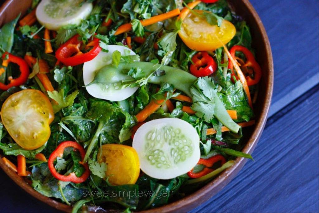 Summer Kale Salad (Raw)