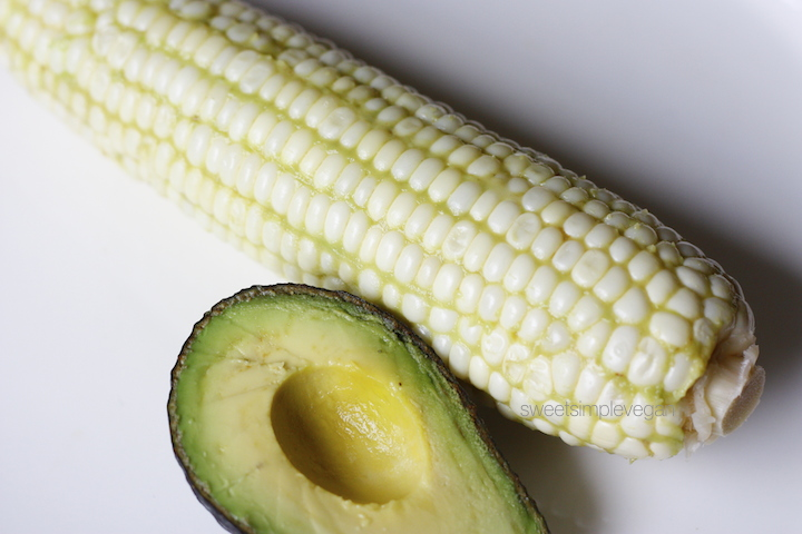 Raw Vegan Buttered Corn