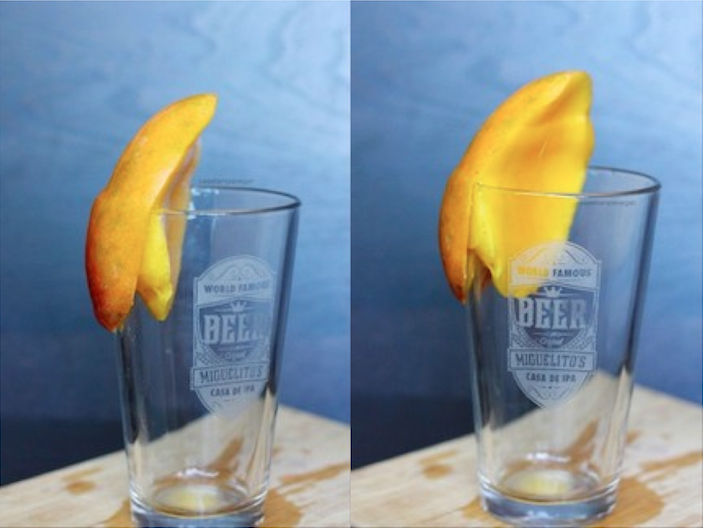 The Amazing Mango Peeling Technique - Peels in 15 seconds!