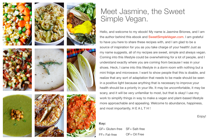 Sweet Simple Vegan: Lunch & Dinner Ebook