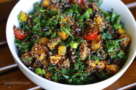 Sweet Simple Vegan: Lunch & Dinner: Mango Quinoa Salad
