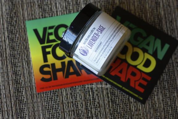 A Healthy Vegan 21st Birthday Celebration: Schmidt's Natural Deodorant - Lavender + Sage