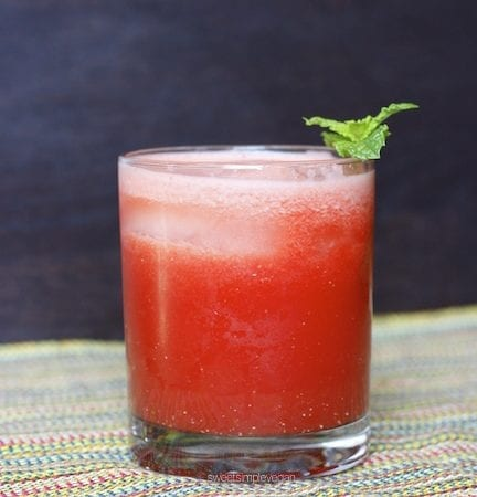 Refreshing Summer Beverage: Watermelon Mint + Lime
