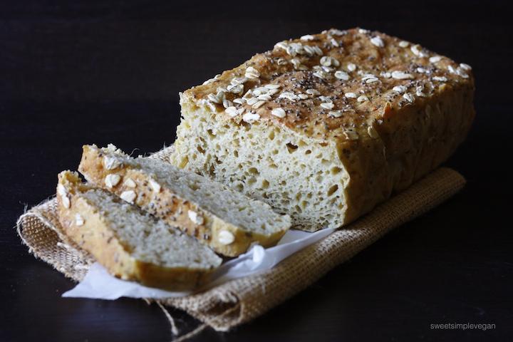 Leftover Lentil Sandwich Bread + Avocado Toast