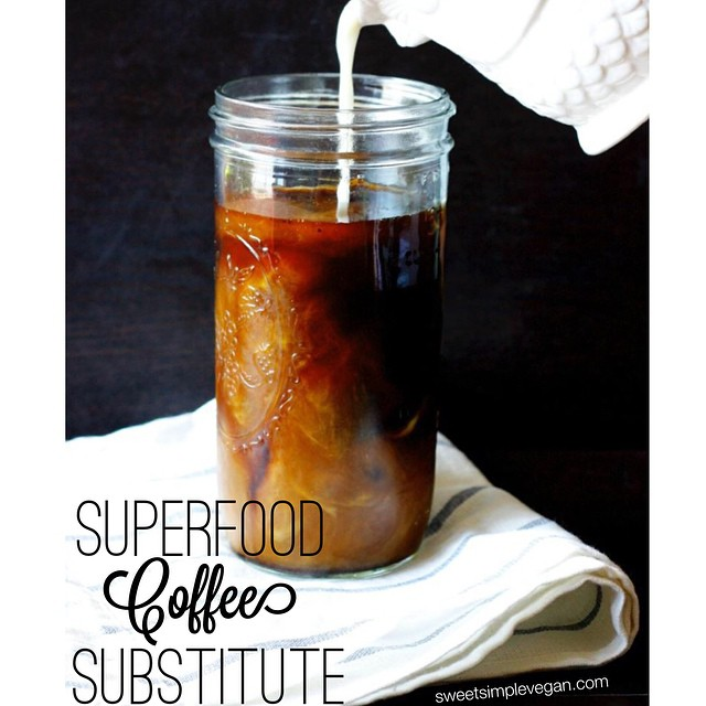 Superfood Iced-Coffee Substitute