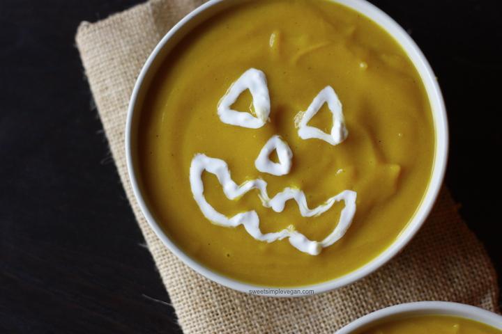 Curried 1Squash & Cauliflower Soup (gf)