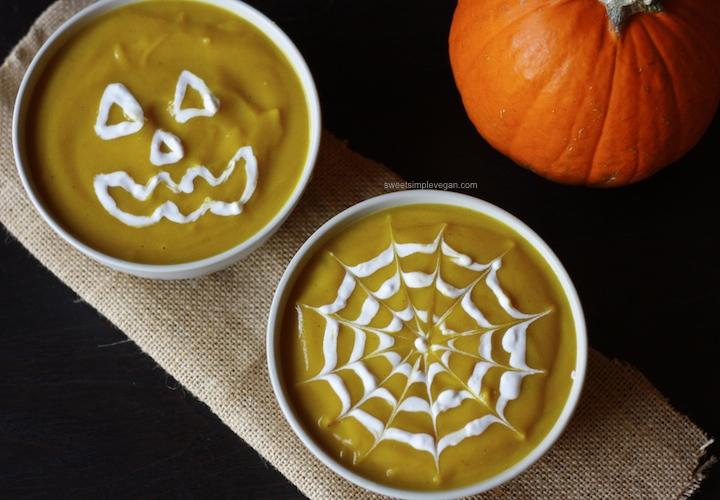 Curried Squash & Cauliflower Soup (gf)
