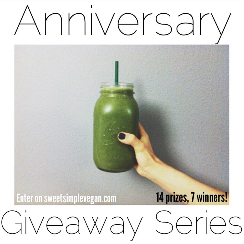 Sweetsimplevegan.com ANNIVERSARY GIVEAWAY SERIES // Coco Jack, SSV Merchandise & Vegan Recipe Ebook