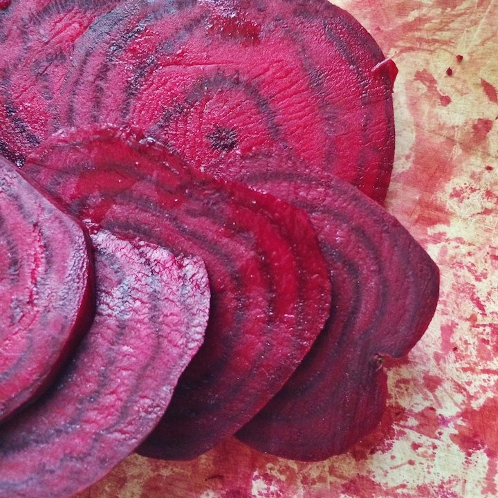 Oil-Free Oven-Roasted Beet Chips, Two Ways!