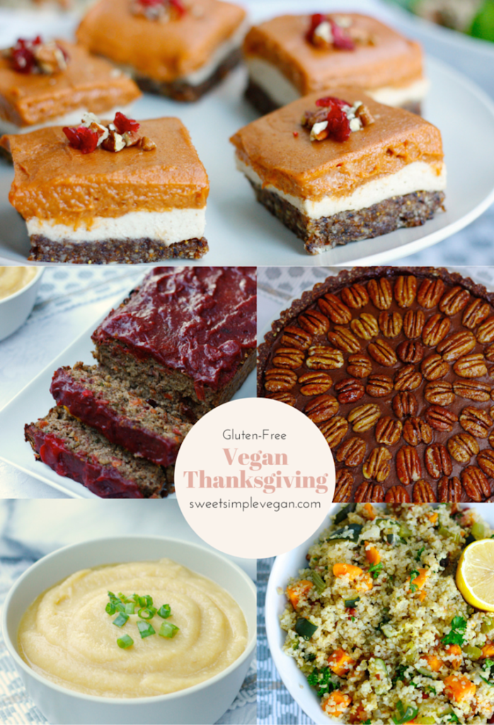 Vegan Thanksgiving sweetsimplevegan.com