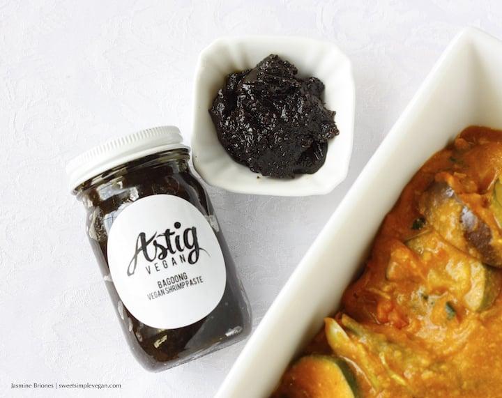 1Vegan Kare Kare (Filipino Peanut Stew) + Bagoong