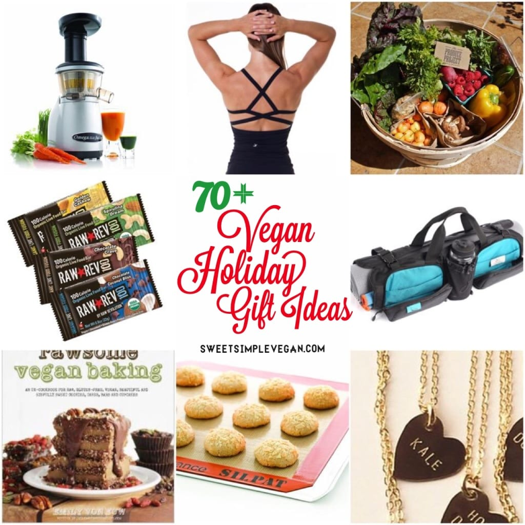 70+ Healthy Vegan Holiday Gift Ideas 2014