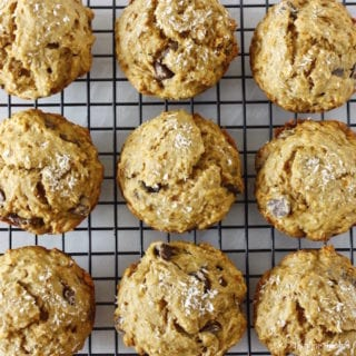 Vegan Parenting + Banana Coconut Dark Chocolate Chip Muffins- Guest Post by Cissy Lala