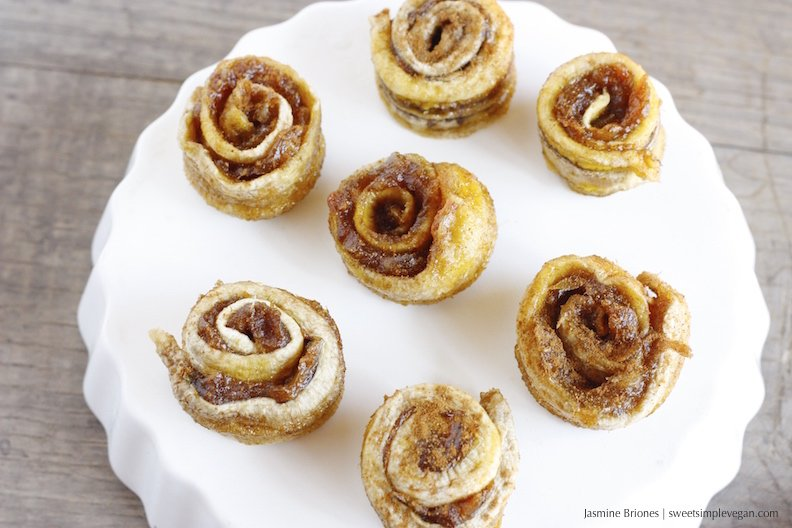 3 Ingredient Vegan Cinnamon Rolls