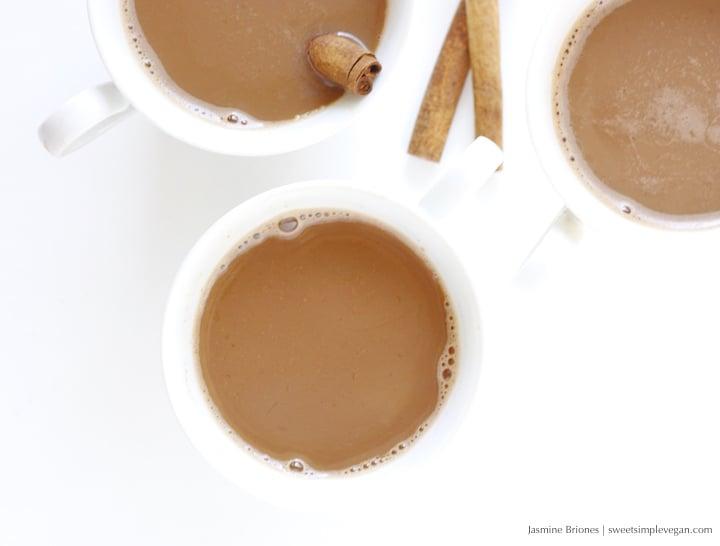 3Easy Vegan Cinnamon Hot Chocolate