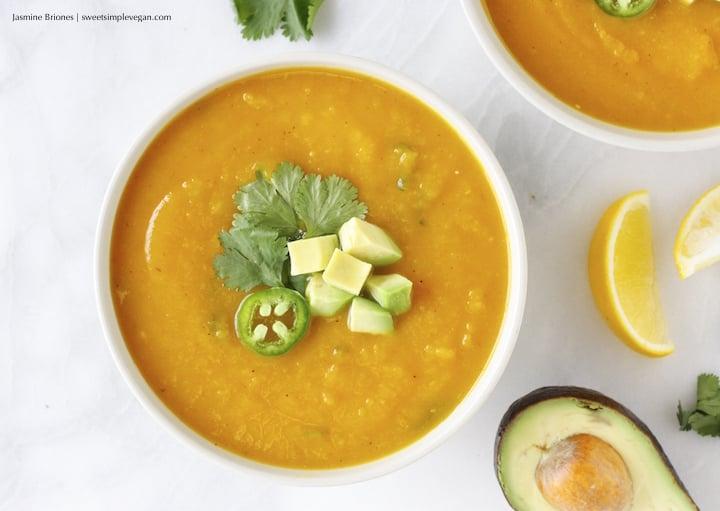 Butternut Squash Jalapeño Soup331