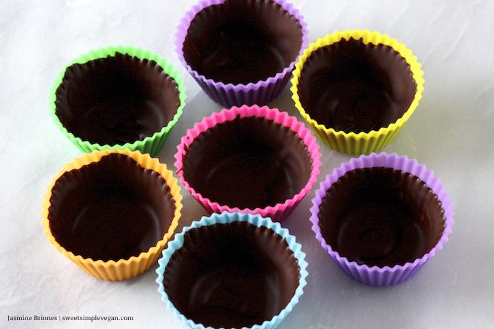 Chocolate Durian Caramel Cups 69
