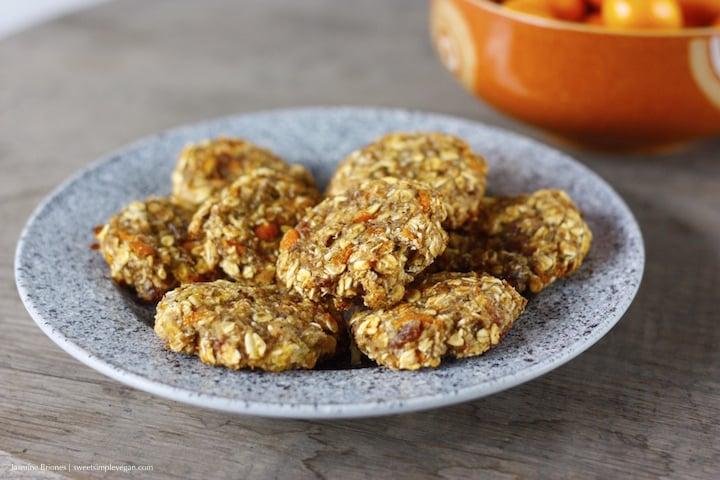 Kumquat Oatmeal Cookies36