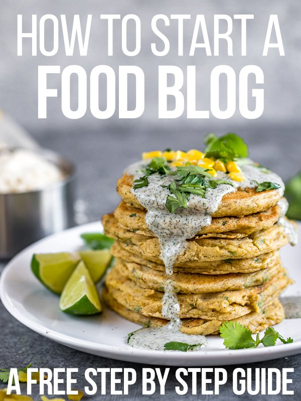 A free step-by-step guide on how to start a food blog and pursue your passion as an online entrepreneur!