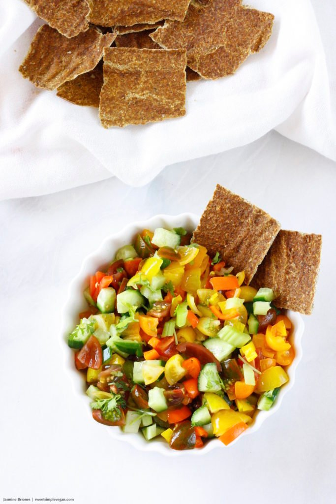 Raw Cilantro Chili Corn Chips (low-fat)5
