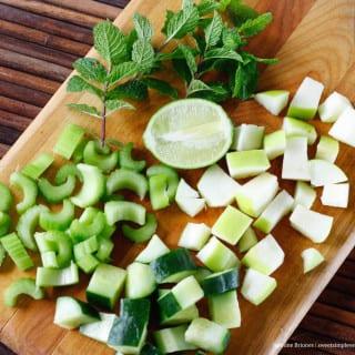 Raw Green Juice Mojito