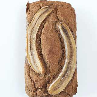 Date-Sweetened Banana Bread (gluten- & oil-free)