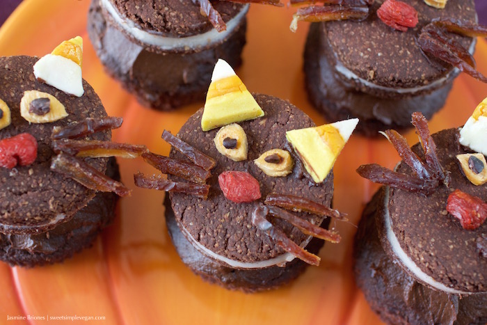 Halloween Oreo Cat Cupcakes26