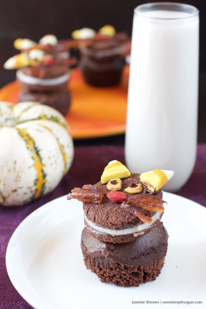 Halloween Oreo Cat Cupcakes50