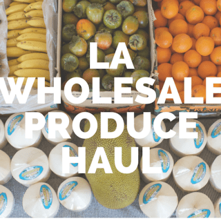 Raw Vegan LA Wholesale Produce Market Haul October 2, 2015