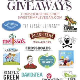 12 Days of Giveaways with Conscious Chris! (CLOSED)