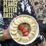 Easy Zucchini Peanut Butter Oatmeal (Zoats) {gf} + VLOGMAS! sweetsimplevegan.com