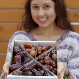 Fresh Dates Unboxing & Taste Test: 5 Varieties!