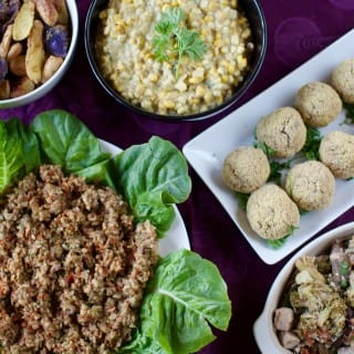 Healthy Vegan Holiday Menu For Two {Gluten & Oil-Free} + What I Ate In A Day On Christmas