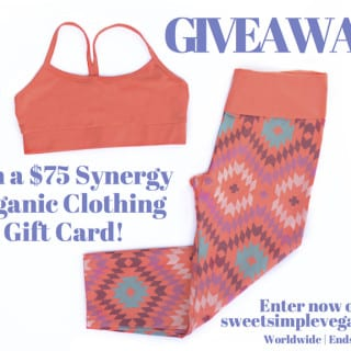 Synergy Organic Clothing $75 Gift Card Giveaway! (CLOSED)