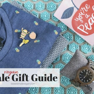 {Vegan} Male Gift Guide | Father's Day & Birthday Presents