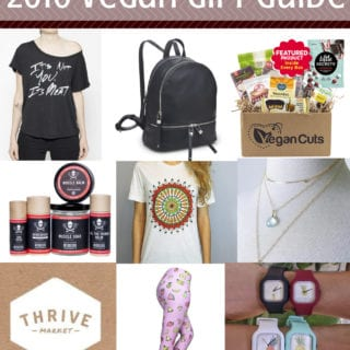 2016 Vegan Holiday Gift Guide + UPCOMING HOLIDAY GIVEAWAYS!
