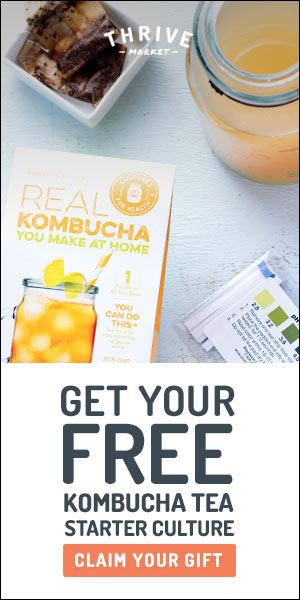 Free Kombucha Kit: http://thrv.me/sweetsimplevegan-kombucha