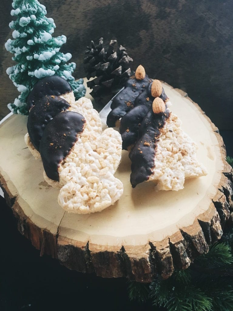 Almond & Cinnamon Marshmallow Treats sweetsimplevegan.com
