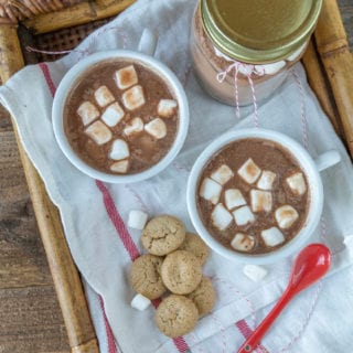 Vegan Chai Spiced Hot Cocoa Mix – DIY Holiday Gift In A Jar