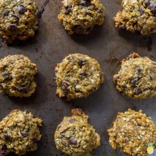 Date-Sweetened Turmeric Tahini Chocolate Chip Cookies {gluten, oil and refined sugar-free} + free plant-based web series!