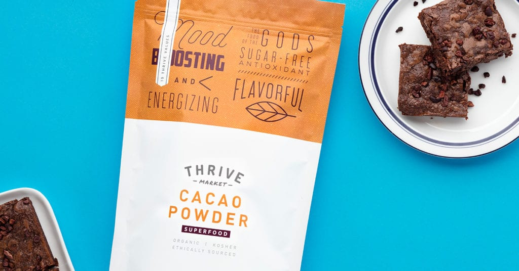 Sweet Simple Vegan x Thrive FREE CACAO POWDER!