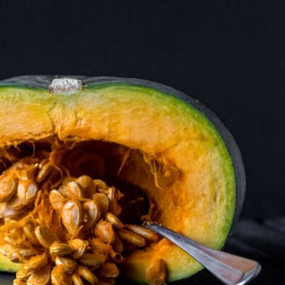 How To Prepare Kabocha Squash {easy + oil-free} sweetsimplevegan.com