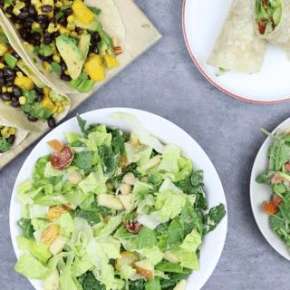 4 No Cook Vegan Lunch Recipes | Easy & Healthy