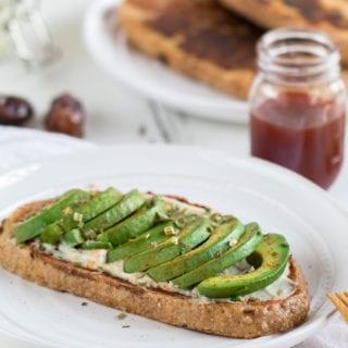 Avocado French Toast – Sweet & Savory {vegan & oil-free}