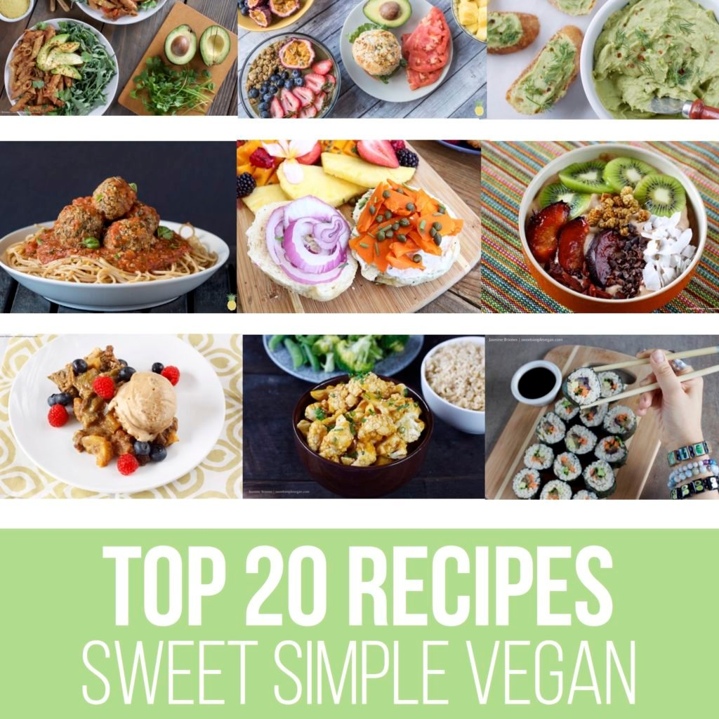 FREE Vegan Recipe Ebook! bit.ly/SSVTop20
